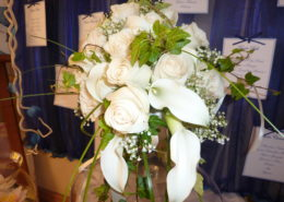 Bouquet con calle e rose